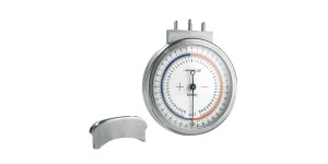 Sferometer 'Made in Germany', brekingsindex n 1,52 en n 1,70