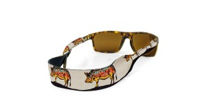 Croakies Print Hog Brown XL