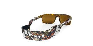 Croakies Print Salmon Fly XL