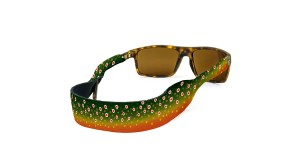 Croakies Print Brook Fish Skin XL