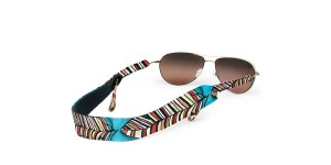 Croakies Print Red Quill regular