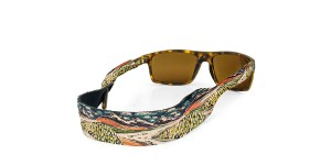 Croakies Print White Light XL